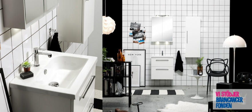 Badrumsmöbler och badrumstillbehör Miller Badrum