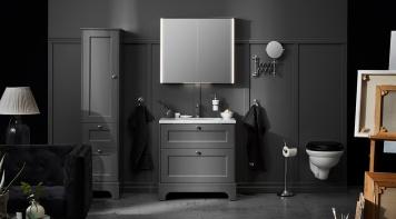 badrumsskåp med spegel och belysning